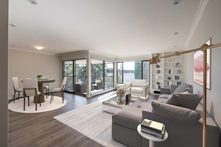 301 1437 FOSTER STREET - White Rock Apartment/Condo for sale, 2 Bedrooms (R2617879)