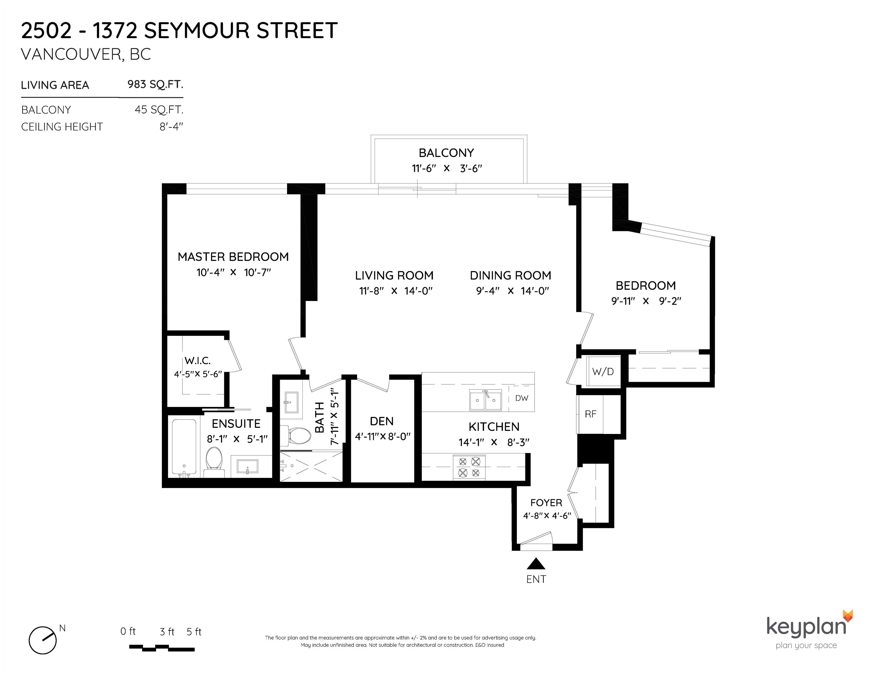 2502 1372 SEYMOUR STREET - Downtown VW Apartment/Condo for sale, 2 Bedrooms (R2617903) - #25