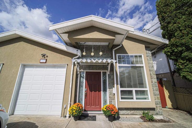 5637 NEVILLE STREET - South Slope 1/2 Duplex for sale, 4 Bedrooms (R2617929)