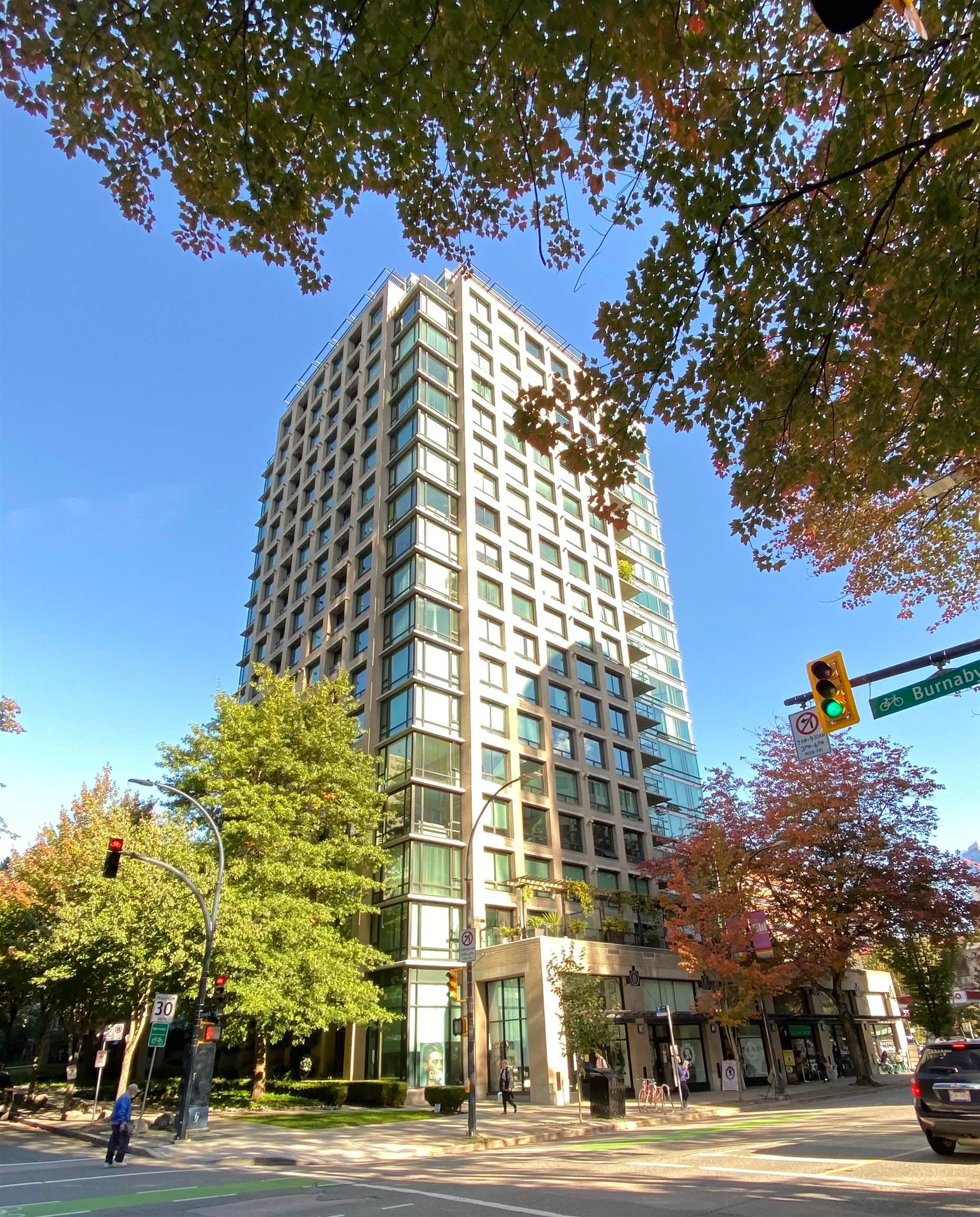 605 1003 BURNABY STREET - West End VW Apartment/Condo for sale, 1 Bedroom (R2618000) - #1