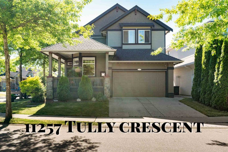 11257 TULLY CRESCENT - South Meadows House/Single Family for sale, 3 Bedrooms (R2618096)