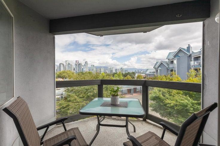 308 1355 W 4TH AVENUE - False Creek Apartment/Condo for sale, 2 Bedrooms (R2618206)