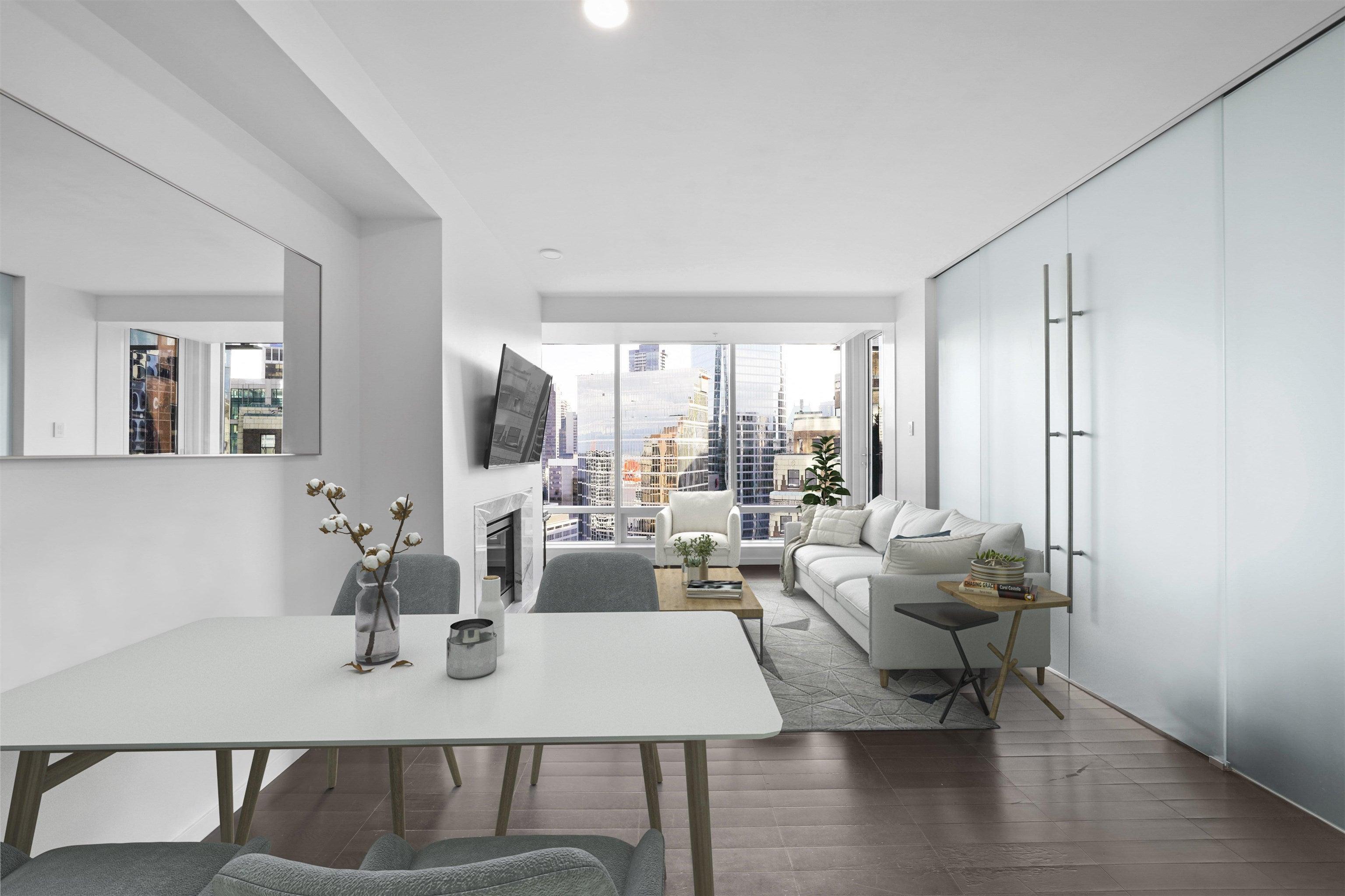 2604 1011 W CORDOVA STREET - Coal Harbour Apartment/Condo for sale, 1 Bedroom (R2618214) - #1