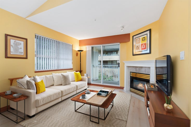 504 1035 AUCKLAND STREET - Uptown NW Apartment/Condo for sale, 2 Bedrooms (R2618238)