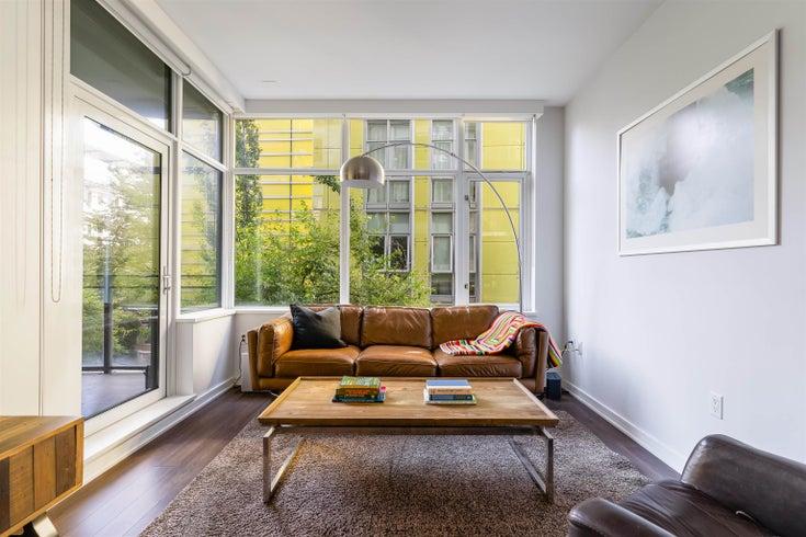 201 181 W 1ST AVENUE - False Creek Apartment/Condo for sale, 1 Bedroom (R2618513)