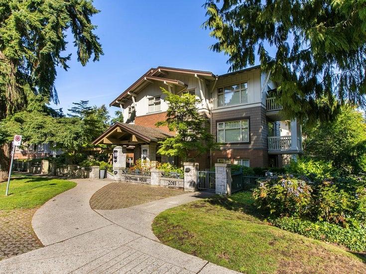 316 2083 W 33 AVENUE - Quilchena Apartment/Condo for sale, 2 Bedrooms (R2618546)