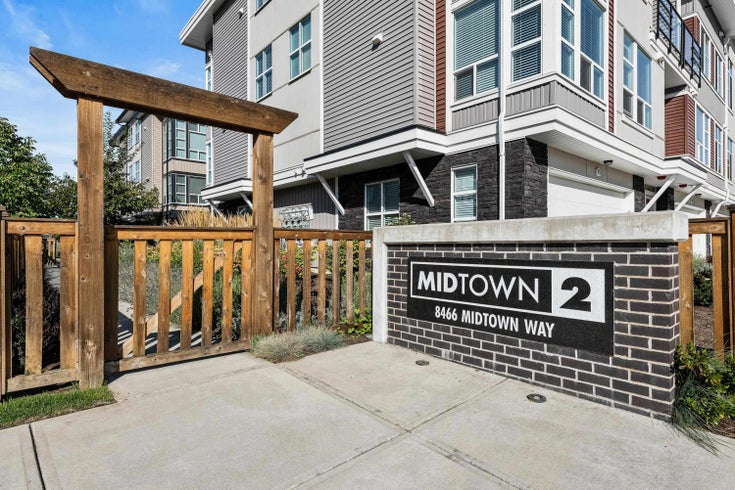 8 8466 MIDTOWN WAY - Chilliwack W Young-Well Townhouse for sale, 3 Bedrooms (R2618649)