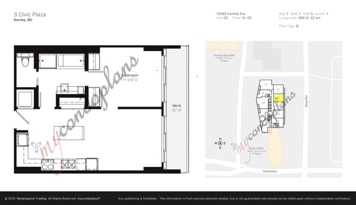 2702 13495 CENTRAL AVENUE - Whalley Apartment/Condo for sale, 1 Bedroom (R2618667)