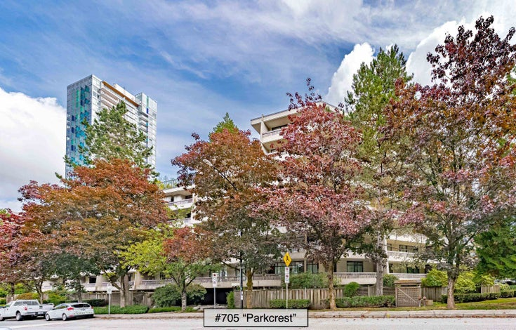 705 5932 PATTERSON AVENUE - Metrotown Apartment/Condo for sale, 2 Bedrooms (R2618683)