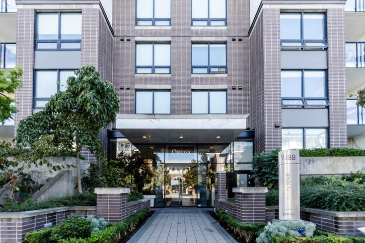 122 9388 ODLIN ROAD - West Cambie Apartment/Condo for sale, 2 Bedrooms (R2618880)