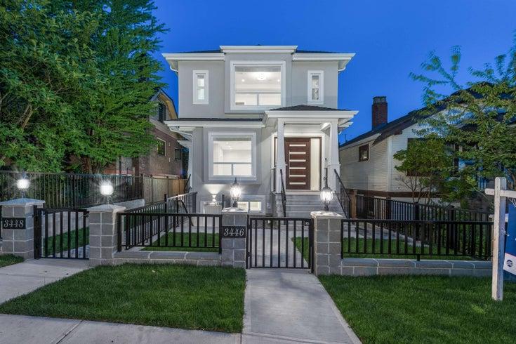 3446 PANDORA STREET - Hastings Sunrise 1/2 Duplex for sale, 5 Bedrooms (R2618941)