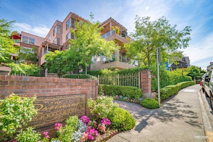 304 2271 BELLEVUE AVENUE - Dundarave Apartment/Condo for sale, 2 Bedrooms (R2618962)