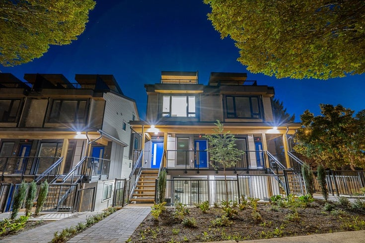 4742 DUCHESS STREET - Collingwood VE Townhouse for sale, 3 Bedrooms (R2619037)