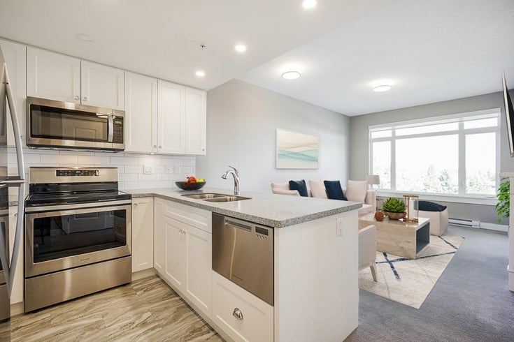 707 15333 16 AVENUE - Sunnyside Park Surrey Apartment/Condo for sale, 1 Bedroom (R2619074)