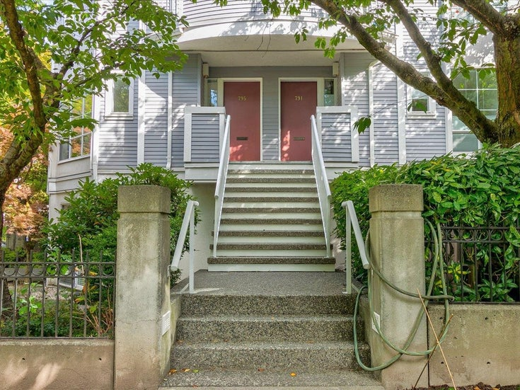795 W 15TH AVENUE - Fairview VW Townhouse for sale, 3 Bedrooms (R2619126)