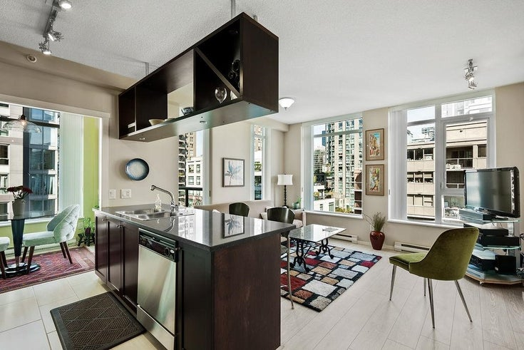 902 1001 HOMER STREET - Yaletown Apartment/Condo for sale, 1 Bedroom (R2619159)