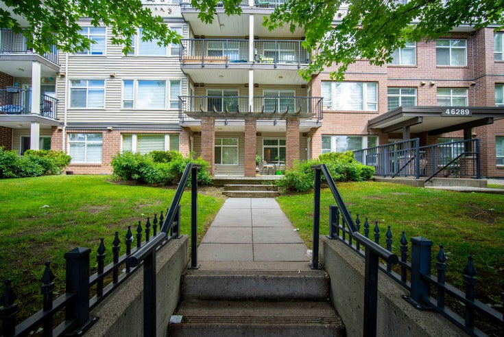 116 46289 YALE ROAD - Chilliwack E Young-Yale Apartment/Condo for sale, 1 Bedroom (R2619463)