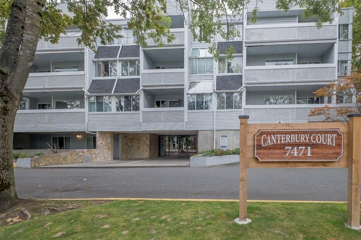 306 7471 BLUNDELL ROAD - Brighouse South Apartment/Condo for sale, 1 Bedroom (R2619496)