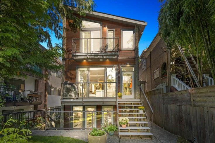 1601 E 4TH AVENUE - Grandview Woodland 1/2 Duplex for sale, 3 Bedrooms (R2619589)
