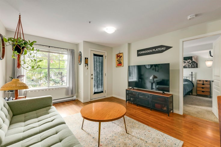 105 1969 WESTMINSTER AVENUE - Glenwood PQ Townhouse for sale, 1 Bedroom (R2619622)