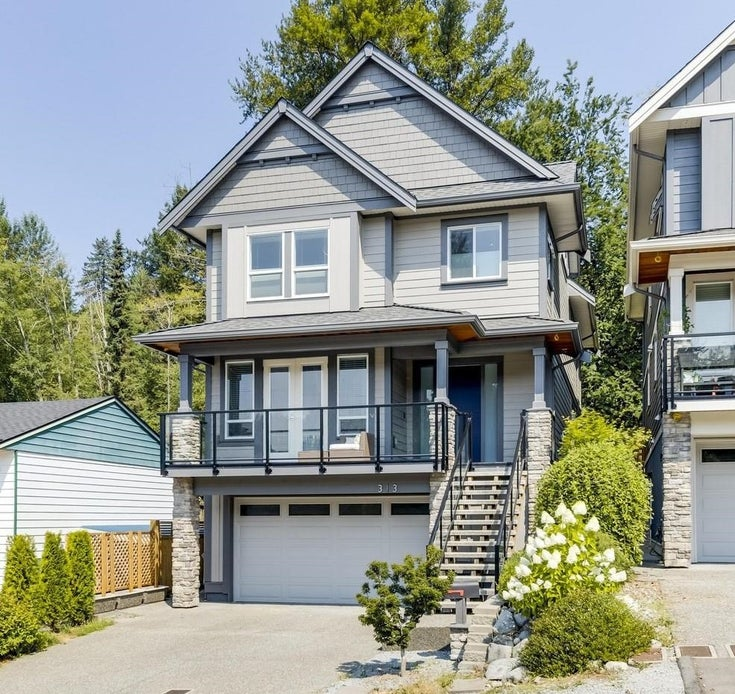 313 AVALON DRIVE - North Shore Pt Moody House/Single Family for sale, 4 Bedrooms (R2619716)