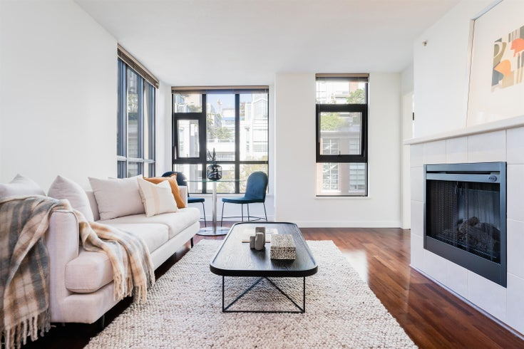 502 538 SMITHE STREET - Downtown VW Apartment/Condo for sale, 1 Bedroom (R2619723)