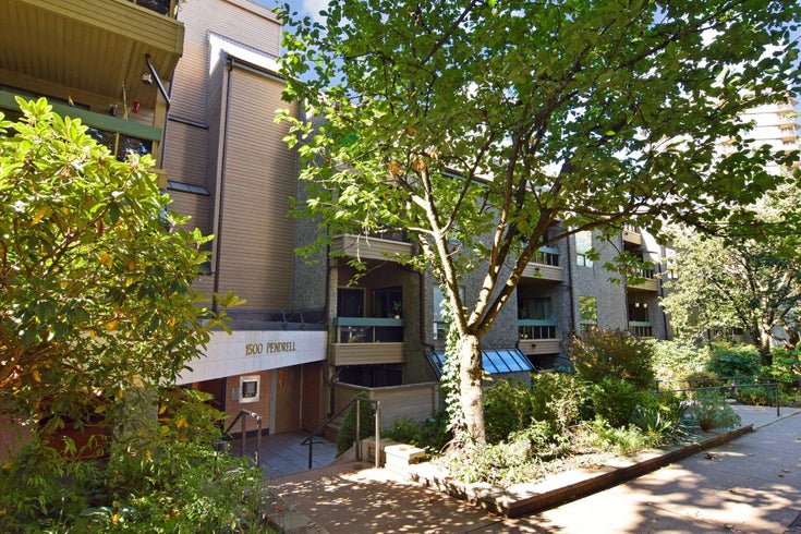 326 1500 PENDRELL STREET - West End VW Apartment/Condo for sale, 2 Bedrooms (R2619729)