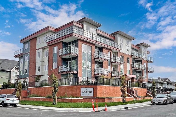 207 2389 HAWTHORNE AVENUE - Central Pt Coquitlam Apartment/Condo for sale, 3 Bedrooms (R2619868)