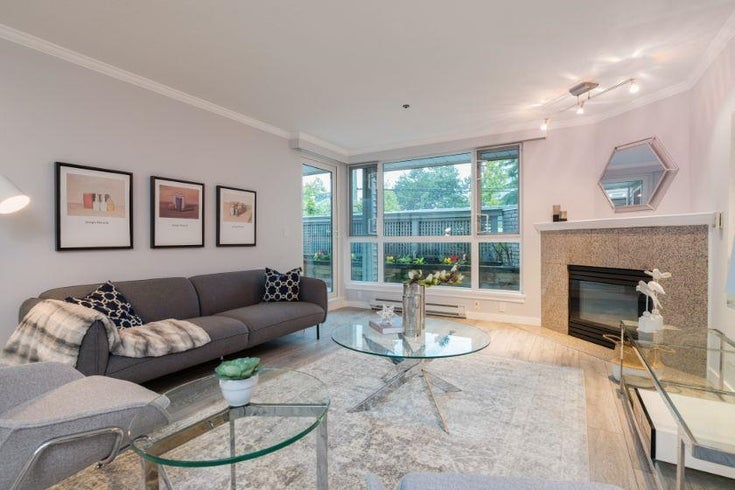 104 1318 W 6TH AVENUE - Fairview VW Apartment/Condo for sale, 3 Bedrooms (R2619874)