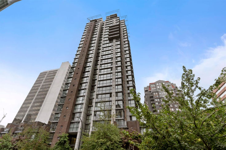 807 1068 HORNBY STREET - Downtown VW Apartment/Condo for sale, 1 Bedroom (R2619913)
