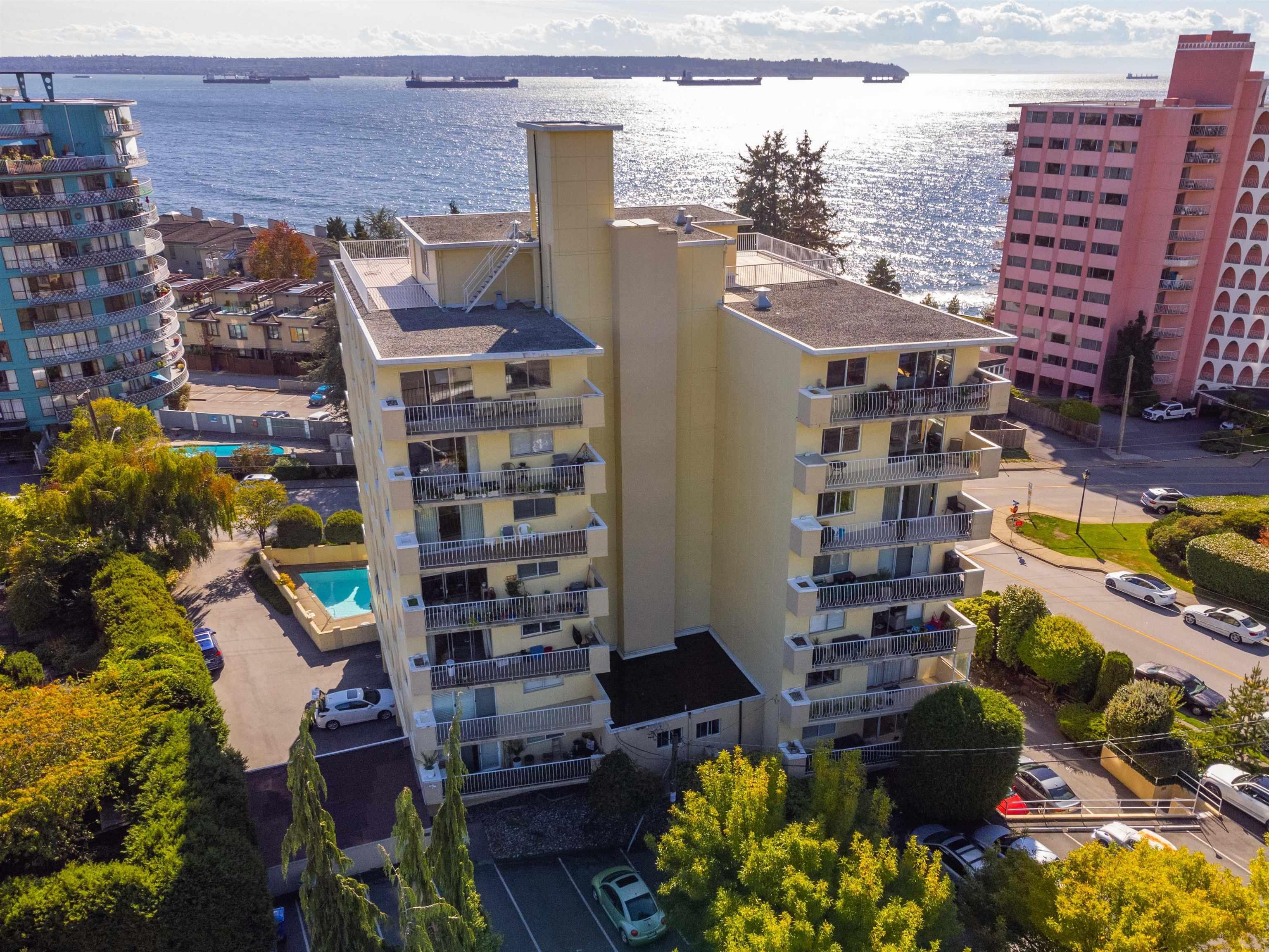 601 2187 BELLEVUE AVENUE - Dundarave Apartment/Condo for sale, 1 Bedroom (R2620121) - #1