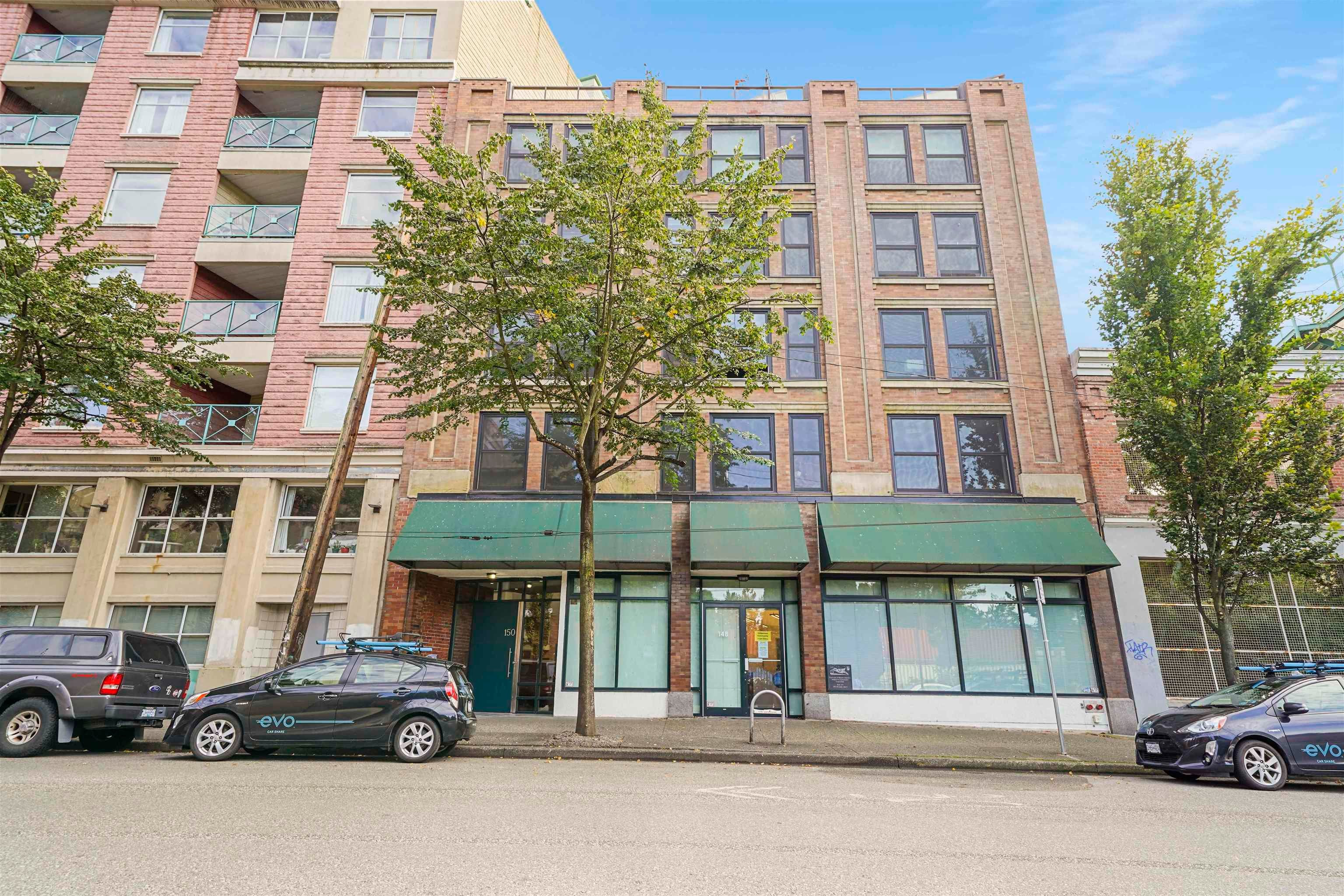 201 150 ALEXANDER STREET - Downtown VE Apartment/Condo for sale, 1 Bedroom (R2620191)