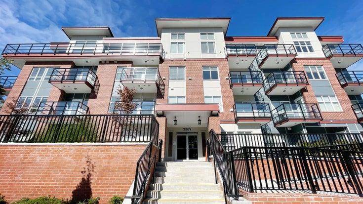 208 2389 HAWTHORNE AVENUE - Central Pt Coquitlam Apartment/Condo for sale, 2 Bedrooms (R2620312)