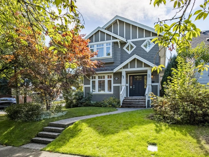 4504 W 13TH AVENUE - Point Grey House/Single Family for sale, 3 Bedrooms (R2620373)