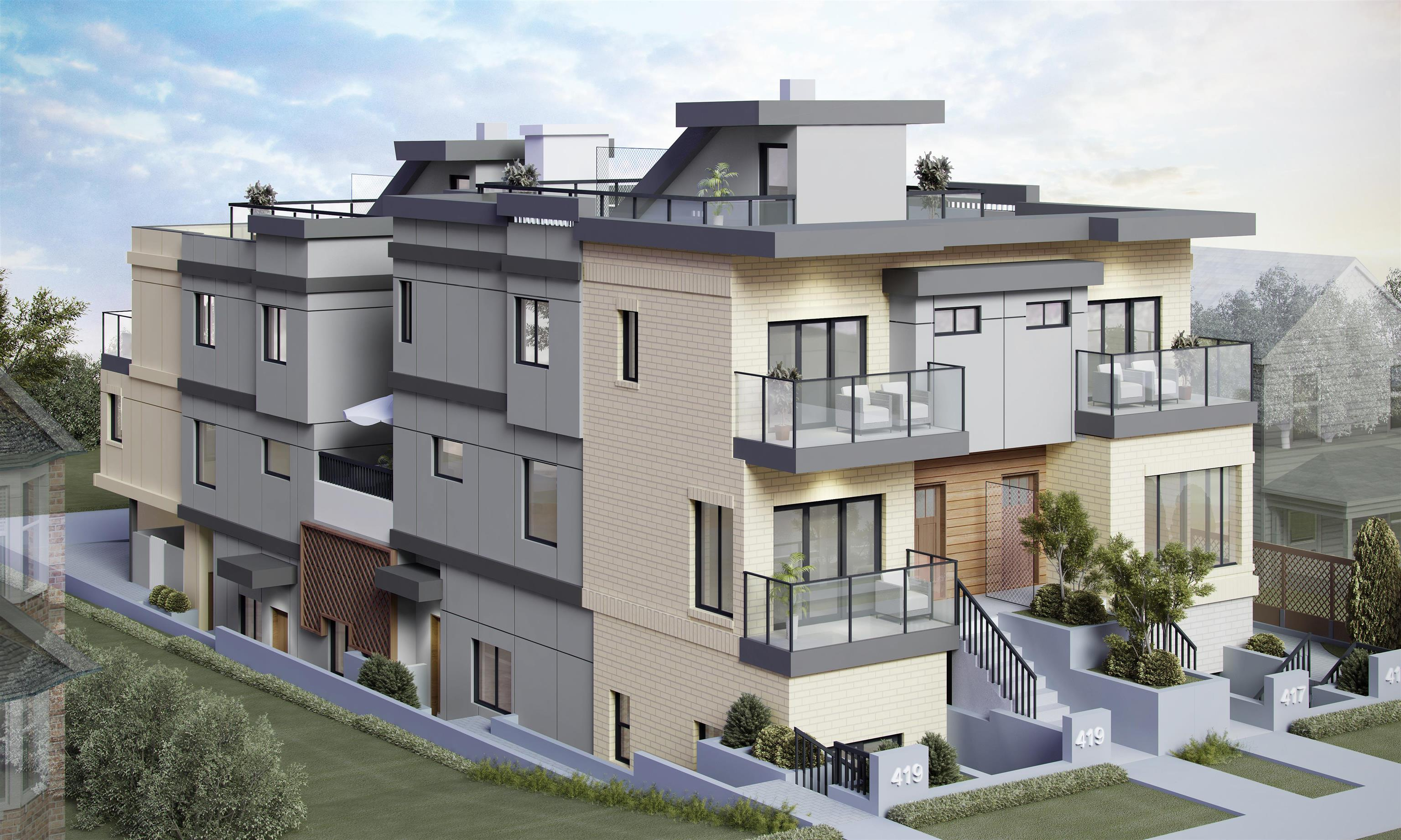 2 419 E 2ND STREET - Lower Lonsdale Townhouse for sale, 4 Bedrooms (R2620414) - #1