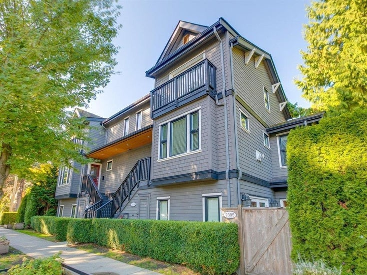 2305 MCLEAN DRIVE - Grandview Woodland Townhouse for sale, 2 Bedrooms (R2620677)