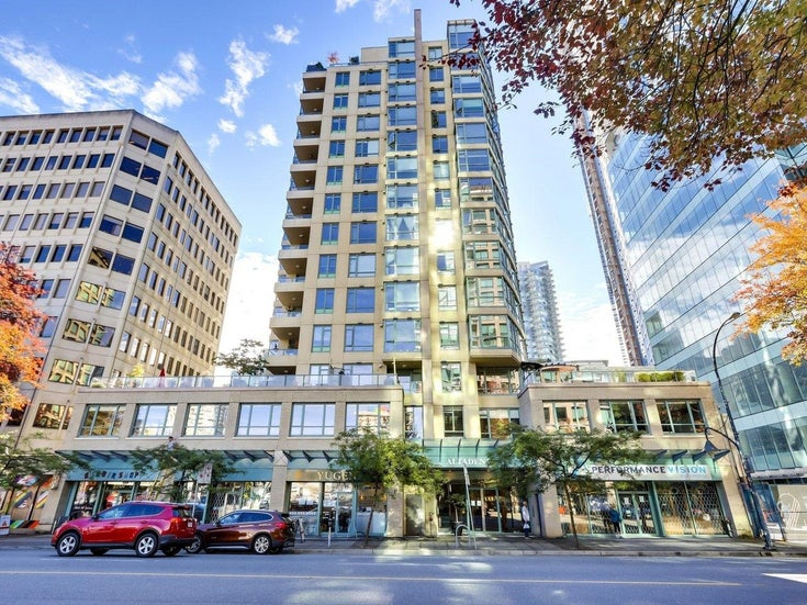 1304 1238 BURRARD STREET - Downtown VW Apartment/Condo for sale, 2 Bedrooms (R2620701)