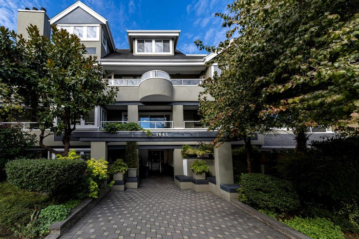 201 1665 ARBUTUS STREET - Kitsilano Apartment/Condo for sale, 2 Bedrooms (R2620852)