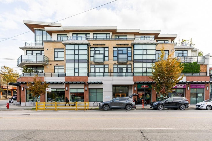 206 2020 ALMA STREET - Kitsilano Apartment/Condo for sale, 1 Bedroom (R2620916)