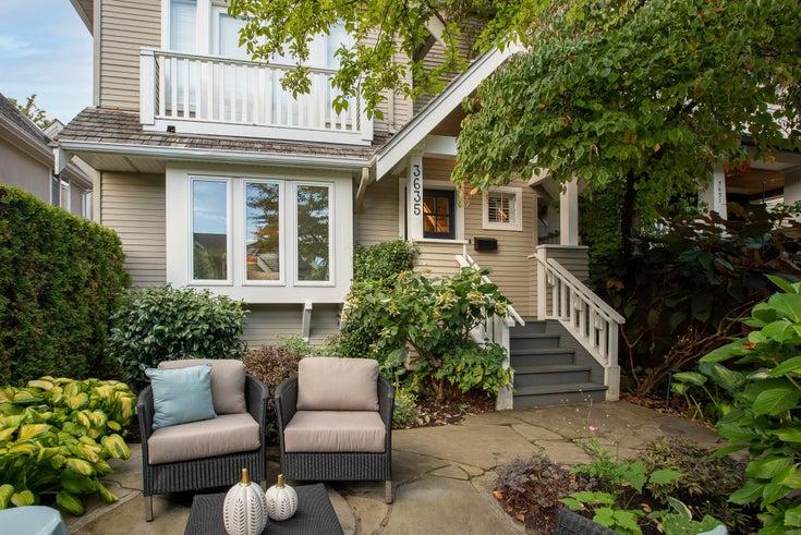 3635 W 2ND AVENUE - Kitsilano 1/2 Duplex for sale, 2 Bedrooms (R2620919)
