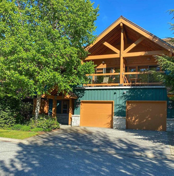 4743D SETTEBELLO DRIVE - Whistler Village Townhouse for sale, 3 Bedrooms (R2620946)