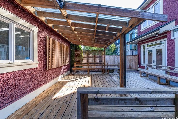 3487 W 2ND AVENUE - Kitsilano 1/2 Duplex for sale, 3 Bedrooms (R2621064)