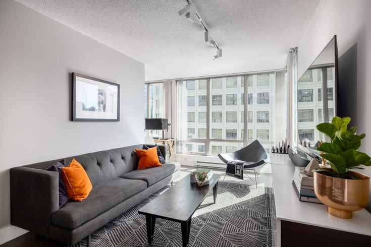 1906 1200 GEORGIA STREET - West End VW Apartment/Condo for sale, 1 Bedroom (R2621158)