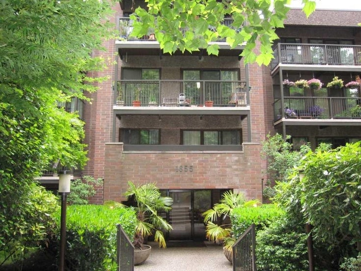 411 1655 NELSON STREET - West End VW Apartment/Condo for sale, 1 Bedroom (R2621364)