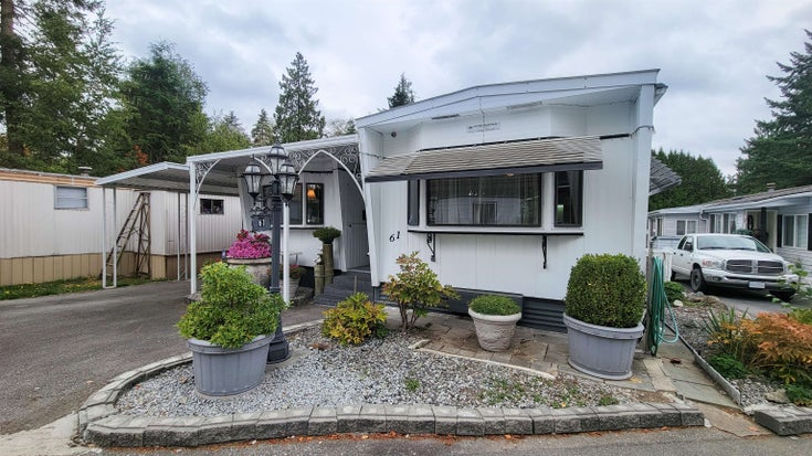 61 24330 FRASER HIGHWAY - Aldergrove Langley Manufactured for sale, 3 Bedrooms (R2621391)