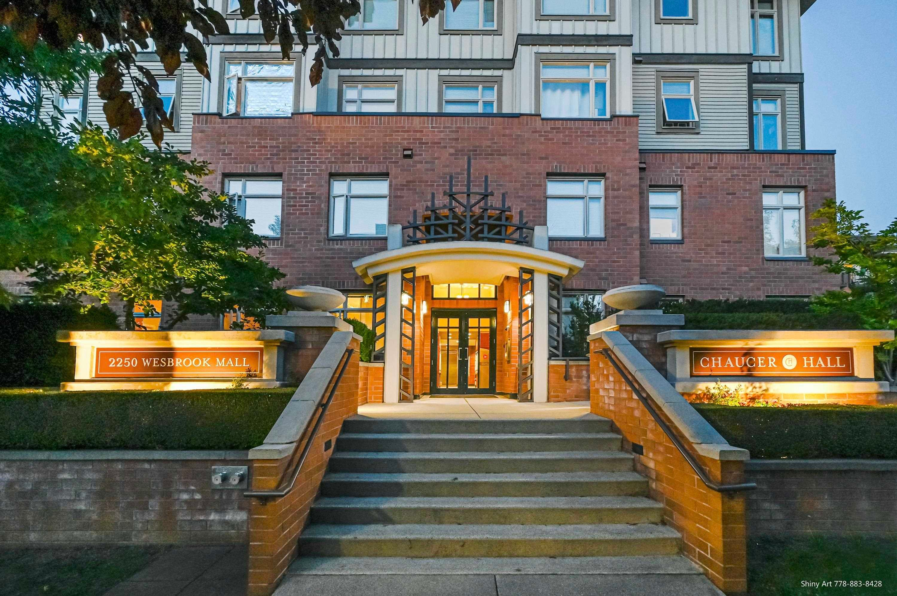 306 2250 WESBROOK MALL - University VW Apartment/Condo for sale, 3 Bedrooms (R2621415)