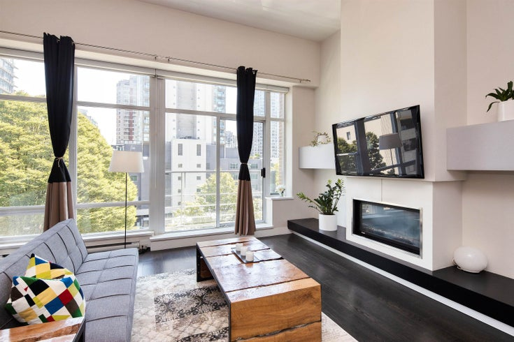 402 535 SMITHE STREET - Downtown VW Apartment/Condo for sale, 1 Bedroom (R2621667)