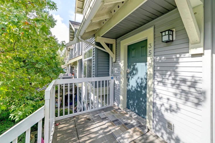 35 7488 SOUTHWYNDE AVENUE - South Slope Townhouse for sale, 2 Bedrooms (R2621688)