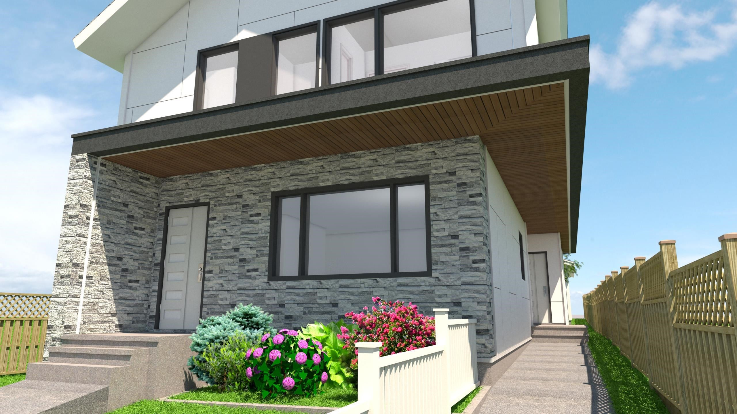SL#1 2465 E 23RD AVENUE - Renfrew Heights 1/2 Duplex for sale, 3 Bedrooms (R2622107) - #1