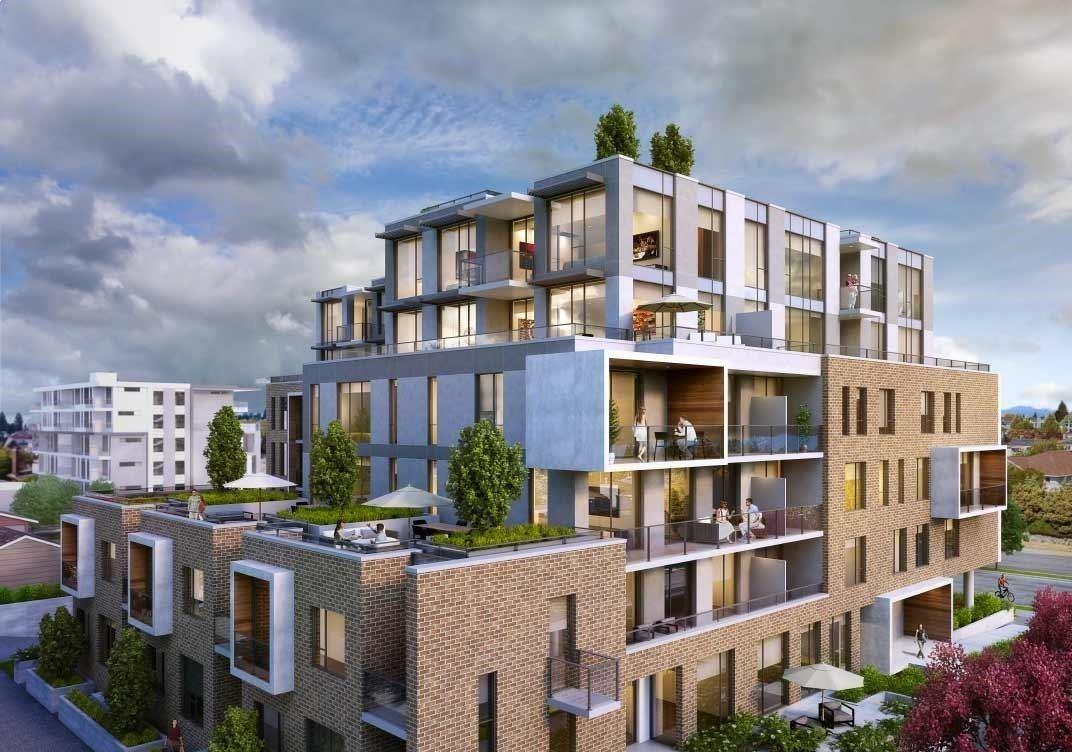 603 5733 ALBERTA STREET - Oakridge VW Apartment/Condo for sale, 2 Bedrooms (R2622457)